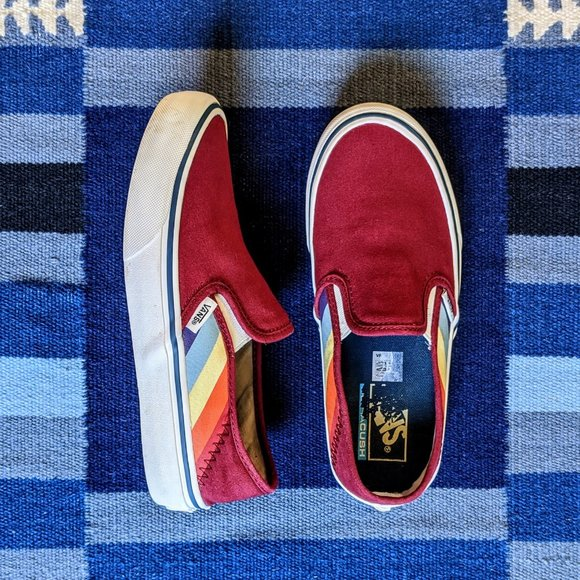 Vans Shoes | Vans Classic Rad Rainbow